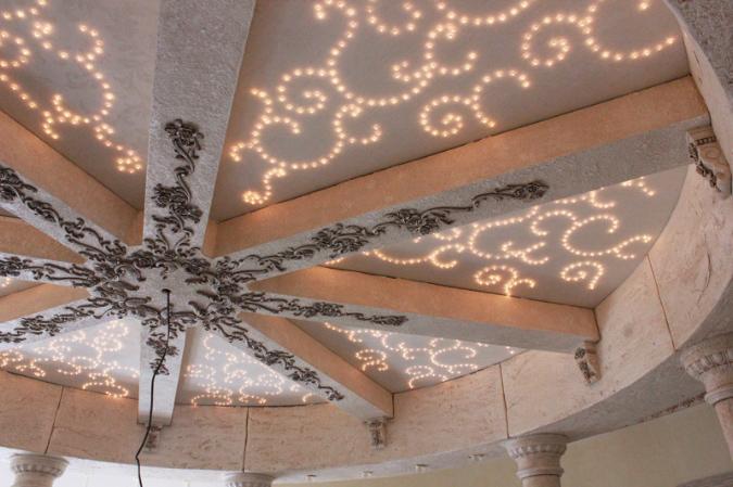 Декор дома нет потолка
